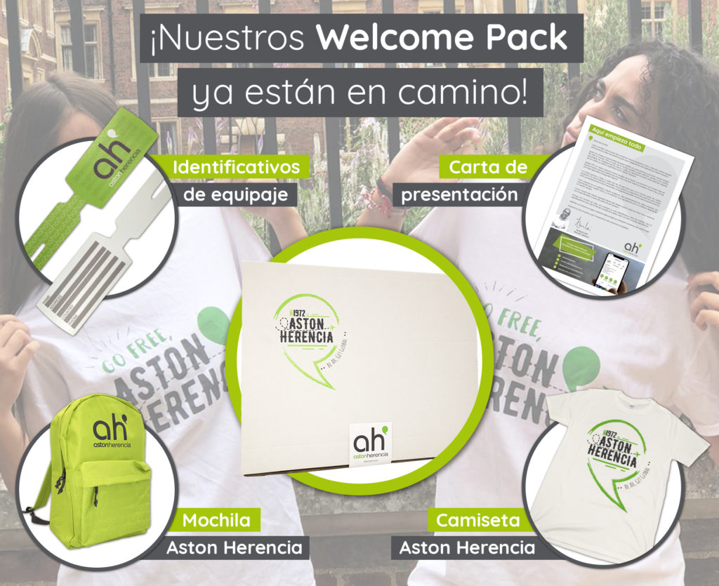 Welcome Pack Aston Herencia