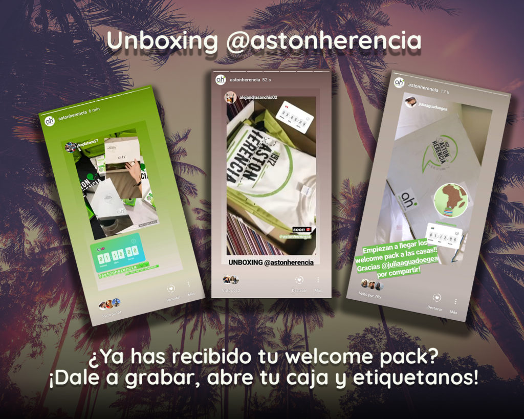 unboxing aston herencia